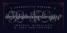 Antonietta Type System on Behance