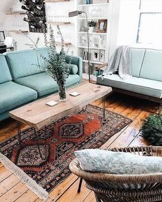 Living Room Decorating Ideas - Home Design Photos   Whether it's with wall paint or gallery walls, velvet sofas or flashy textiles, these rooms are designed to inspire.