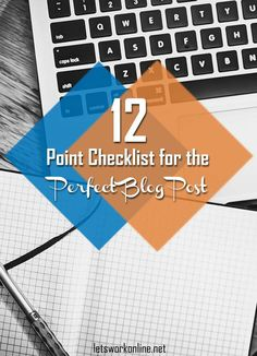 Are you are a busy blogger? Don't hit the publish button until you have gone through this blog post checklist. #bloggingtips #blogposts