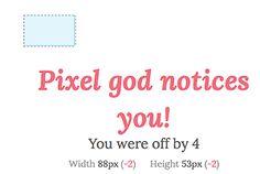Pratiquer votre oeil graphique : dimensions exactes avec Pixactly