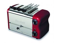 Rowlett Esprit Wide 4 Slice Bread Toaster with Bun Mode in Claret - Toasters - Electronics