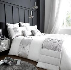 Signature Lush Oyster Duvet Quilt Cover Bedding Set – Linen and Bedding Matching Bedding And Curtains, Bed Linen Design, White Cushion Covers, Bed Linens Luxury, Duvet, Bed, Duvet Cover Sets, Grey Linen Bedding, Duvet Covers