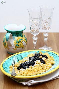 Császármorzsa házi áfonyalekvárral Izu, Serving Bowls, Tableware, Dinnerware, Tablewares, Dishes, Place Settings, Mixing Bowls, Bowls