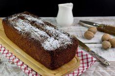 Plumcake ricotta, cioccolato e noci