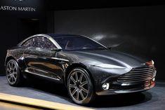 All-Electric All-Wheel Drive Aston Martin DBX Concept at Geneva Motor Show - MotoringView Aston Martin Suv, Martin Car, Aston Martin Lagonda, Porsche, Audi, Peugeot, Lamborghini, Geneva Motor Show, Hot Rides