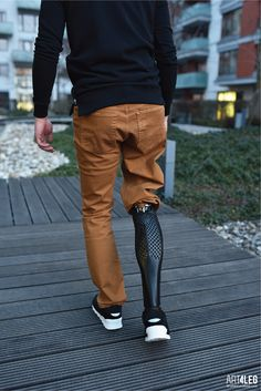 Customized 3D Printed prosthetic leg cover. on Behance