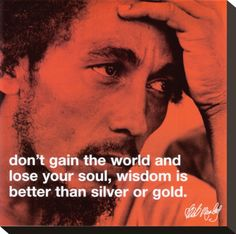 That's right, I just pinned a Bob Marley quote.