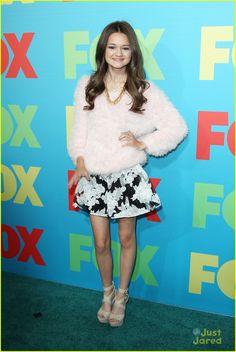 Ciara Bravo at the 2014 Fox FanFront Presentation Event