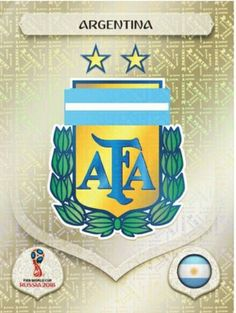 Argentina 2018 World Cup Finals card. World Cup Russia 2018, World Cup 2018, Fifa World Cup, Fifa 1, America Album, Mens World Cup, Argentina Flag, Word Cup, America's Cup