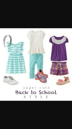 Here are some cute back to school cloths