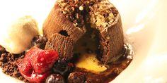 Salted Egg Chocolate Lava Cake @63Celsius