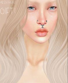 Second Life Freebies and more: Free Makena Mesh Head