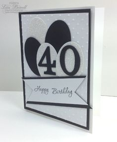 Here is an easy and classy Birthday/Anniversary Card that is sure to be a hit! www.lisastamps.com