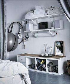 Keeping Fit: Simple DIY home gym ideas