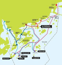Timetables and routes for the scheduled archipelago boats in Espoo during the summer Little Island, Archipelago, Drinking Water, Finland, Schedule, Boats, Timeline, Ships, Boat