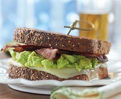 Bacon, Avocado and Mozzarella Sandwich with Tre Stelle® Mozzarella Cheese Slices Cheese Recipes, Cooking Recipes, Bacon Avocado, Lard, Brunch Recipes, Grilling, Sandwiches, Picnic, Lunch