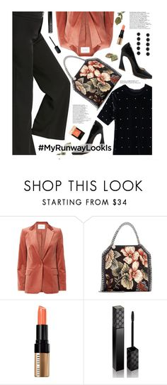 """What's YOUR Runway Look?"" by beebeely-look ❤ liked on Polyvore featuring Frame, STELLA McCARTNEY, Bobbi Brown Cosmetics, Gucci, NYFW, sammydress, streetwear, StreetChic and MyRunwayLookIs"