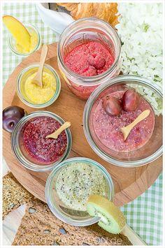 Rezept Chia Samen Marmelade Früchte Obst selbermachen ohne Kochen 180gradsalon