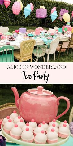 Party birthday girl themes kids birthday party ideas alice in wonderlandl t Alice In Wonderland Theme, Mad Tea Parties, Tea Party For Kids, Girls Tea Party, Girl Birthday Themes, First Birthday Parties, First Birthdays, Birthday Cakes, Ideas