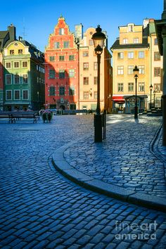 Stortorget Square, Stockholm, Sweden - a gorgeous city! Sweden Stockholm, Stockholm Travel, Places To Travel, Places To See, Places Around The World, Around The Worlds, Saint Marin, Baltic Cruise, Scandinavian Countries