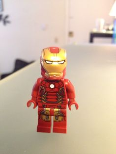 New iron man from avengers tower set
