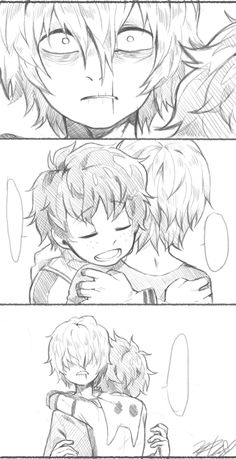 To satisfy your fujoshi needs Yaoi pics to warm the heart and make you squeal Requests are opened but if I can't find the ship then I'm sorry but I can't post. Boku No Academia, My Hero Academia Shouto, My Hero Academia Episodes, Hero Academia Characters, Villain Deku, The Villain, Beste Comics, Deku Boku No Hero, Tomura Shigaraki