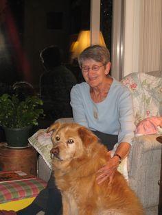Pauline Loewenhardt with Charlie in 2007  Ann Arbor, Michigan