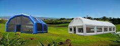 Large inflatable buildings for outdoor events and meetings. http://brinflatables.co.uk/inflatable-structures/