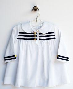 Vintage Sailor Coat : Toddler