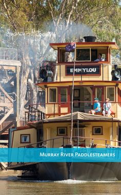 Take to the waters of the mighty Murray River on the Emmylou Paddlesteamer Cruise Ship Reviews, Contemporary Cabin, Murray River, Melbourne, Sydney, Cruise Tips, Touring, Road Trip, Steamers