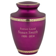 Decorative Cremation Urns Alluring Pink Cremation Urns  Stardust Memorials Pink Can Be Vibrant And Decorating Inspiration
