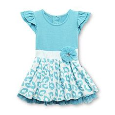 WonderKids- -Infant & Toddler Girl's Dress - Animal Print Toddler Girl Dresses, Girls Dresses, Infant Toddler, Rompers, Animal, Clothes, Women, Fashion, Clothing