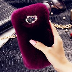 KISSCASE Luxury Fur Case for Samsung Galaxy A3100 A5100 A7100 Cover for Samsung J2 J3 J5 J7 2016 Coque Protective Phone Bags