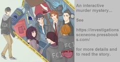 A preview of the cover of my interactive murder mystery Investigations! Read it at investigationssceneone.pressbooks.com! For the full version of the title please see asyrinn.deviantart.com.  #visualnovel #murder #mystery #police #game #novel #reading #anime #manga #sketch #color #danger #girl #agent #investigation #case #pencil #suit #original #story #art #cute #cool #animeboy #animegirl #blazer #phone #asyrinn