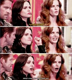 I loved this part! Robin had a nice little smirk when Regina did it! *LOVE*