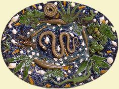 Un plat de Bernard Palissy. Sevres Museum