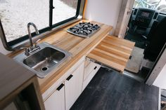 Roll with Mo & Gracie in a Sprinter Van — Tiny House, Tiny Footprint