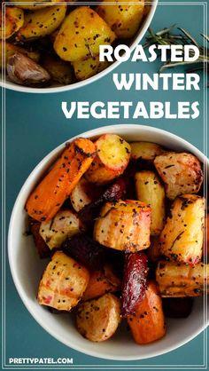 roasted winter vegetables, gluten free vegan, vegetarian, low carb  l www.prettypatel.com