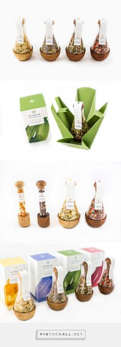 Diverum Premium Spices (Student Project) - Packaging of the World - Creative Package Design Gallery - http://www.packagingoftheworld.com/2016/07/diverum-premium-spices-concept.html
