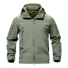 Cheap clothing, Buy Quality jacket large directly from China clothing storage Suppliers: MAGCOMSEN Shark Skin Military Jacket Men Softshell Waterpoof Camo Clothes Tactical Camouflage Army Hoody Jacket Male Winter Coat Mens Fleece Jacket, Bomber Jacket Men, Hoodie Jacket, Camo Outfits, Thermal Jacket, Soft Shell, Geographical Norway, Army Camouflage, Camouflage Jacket