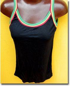 Rasta Clothing | Reggae Tank Top