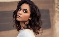Download wallpapers Monica Raymund, 4k, american actress, brunette, beauty, young actress, Hollywood