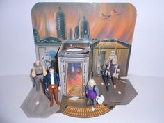 Star Wars 1980 Vintage Kenner Cloud City Action Playset ~ Complete With Figures #StarWars