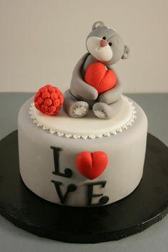 valentinstag ideen torte dekorieren ideen