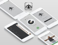 """Check out my @Behance project: """"Fitness iOS App"""" https://www.behance.net/gallery/55221103/Fitness-iOS-App"""