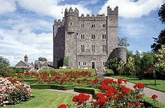 """Kilkea Castle, Ireland.  Stayed here. Wikipedia: """"The castle is particularly, associated with Gerald, the 11th Earl of Kildare known as the 'Wizard Earl'.... The 'Wizard Earl' was sent to the continent to be educated, and following his return... his interest in alchemy caused much interest among his neighbours.... [H]e was said to possess magic powers.""""  He's also said to haunt the castle and the countryside. Kilkea was built in 1181. The Fitzgeralds sold it in the 1960s after over 700…"""