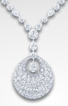 GRAFF White Diamond Bombè Necklace