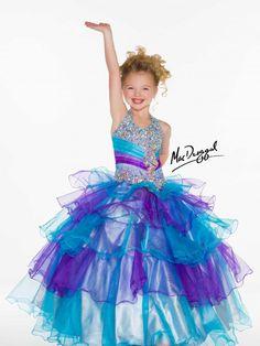Little Girls Pageant Dress - DRESSES FOR KELSEY&-39-S 15th - Pinterest ...