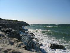 Paysage de la côte d'Osmussaar. ◆Estonie — Wikipédia http://fr.wikipedia.org/wiki/Estonie #Estonia