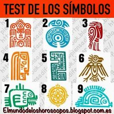 TEST DE LOS SÍMBOLOS Mira todos estos símbolos y elige, inmediatamente, el que te resulte más llamativo..!! ¿Ya lo tienes? Ahora lee las respuestas No pienses ni tomes demasiado tiempo, simplemente selecciona y averigua lo que tu elección dice sobre tu personalidad.